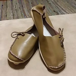 Socofy Leather Moccasins